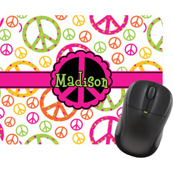 Peace Sign Mouse Pad (Personalized)