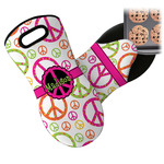 Peace Sign Neoprene Oven Mitt (Personalized)