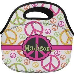 Peace Sign Lunch Bag (Personalized)