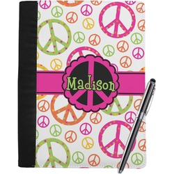 Peace Sign Notebook Padfolio (Personalized)