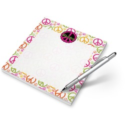 Peace Sign Notepad (Personalized)