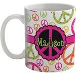 Peace Sign Coffee Mug (Personalized)