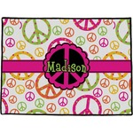 Peace Sign Door Mat (Personalized)