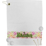 Peace Sign Golf Towel (Personalized)