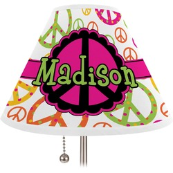 Peace Sign Lamp Shade (Personalized)
