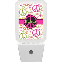 Peace Sign Night Light (Personalized)