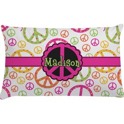 Peace Sign Pillow Case (Personalized)