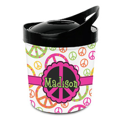 Peace Sign Plastic Ice Bucket (Personalized)