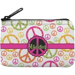 Peace Sign Rectangular Coin Purse (Personalized)