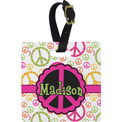 Peace Sign Luggage Tags (Personalized)