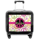 Peace Sign Pilot / Flight Suitcase (Personalized)
