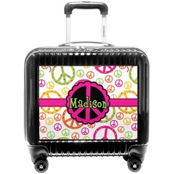 Peace Sign Pilot / Flight Suitcase (Personalized)