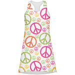 Peace Sign Racerback Dress (Personalized)