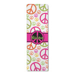 Peace Sign Runner Rug - 3.66'x8' (Personalized)
