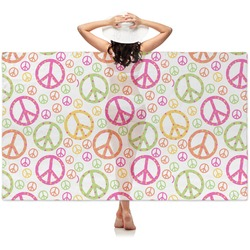 Peace Sign Sheer Sarong (Personalized)