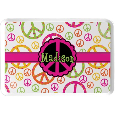 Peace Sign Serving Tray (Personalized)