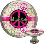 Peace Sign Cabinet Knobs (Personalized)