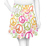 Peace Sign Skater Skirt (Personalized)