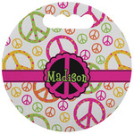 Peace Sign Stadium Cushion (Round) (Personalized)