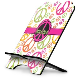 Peace Sign Stylized Tablet Stand (Personalized)