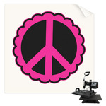 Peace Sign Sublimation Transfer (Personalized)