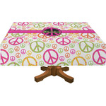 Peace Sign Tablecloth (Personalized)