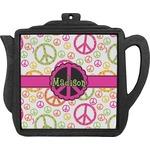 Peace Sign Teapot Trivet (Personalized)