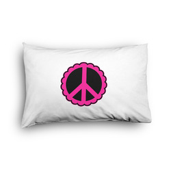Peace Sign Pillow Case - Toddler - Graphic (Personalized)