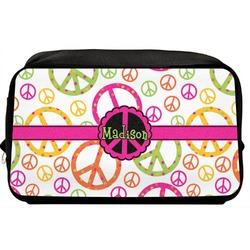 Peace Sign Toiletry Bag / Dopp Kit (Personalized)