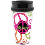 Peace Sign Travel Mugs (Personalized)