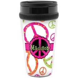 Peace Sign Travel Mug (Personalized)