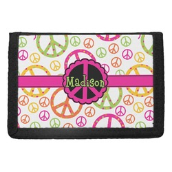 Peace Sign Trifold Wallet (Personalized)
