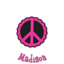 Peace Sign Graphic Decal - Custom Sized (Personalized)
