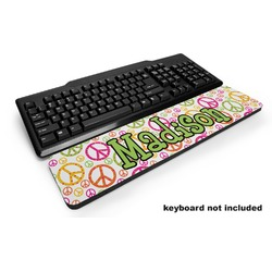 Peace Sign Keyboard Wrist Rest (Personalized)
