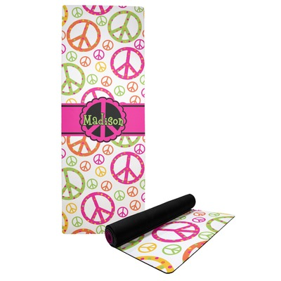 Peace Sign Yoga Mat (Personalized)