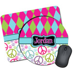 Harlequin & Peace Signs Mouse Pads (Personalized)