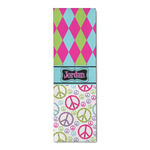 Harlequin & Peace Signs Runner Rug - 3.66'x8' (Personalized)