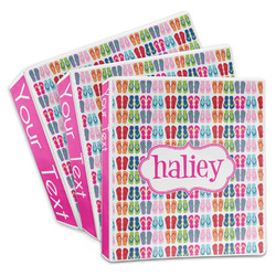 FlipFlop 3-Ring Binder (Personalized)