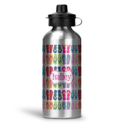 FlipFlop Water Bottle - Aluminum - 20 oz (Personalized)