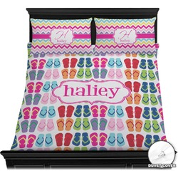 FlipFlop Duvet Cover Set (Personalized)