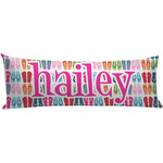 FlipFlop Body Pillow Case (Personalized)