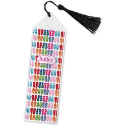 FlipFlop Book Mark w/Tassel (Personalized)