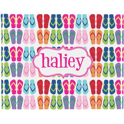 FlipFlop Placemat (Fabric) (Personalized)