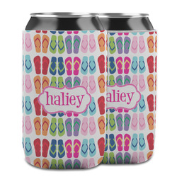 FlipFlop Can Cooler (12 oz) w/ Name or Text