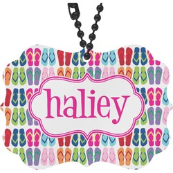 FlipFlop Rear View Mirror Charm (Personalized)