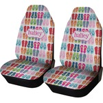 FlipFlop Car Seat Covers (Set of Two) (Personalized)