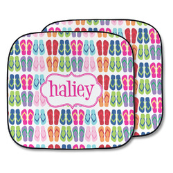 FlipFlop Car Sun Shade - Two Piece (Personalized)