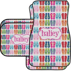 FlipFlop Car Floor Mats (Personalized)