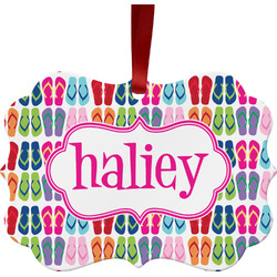 FlipFlop Ornament (Personalized)