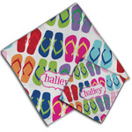 FlipFlop Cloth Napkin w/ Name or Text